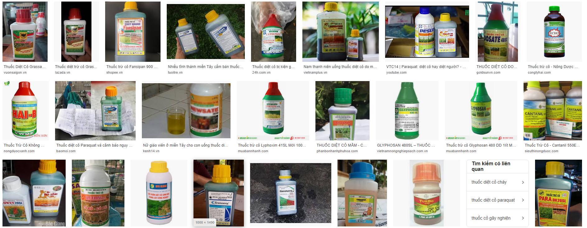Có rất nhiều thuốc diệt cỏ trên thị trường - Lợi Dân